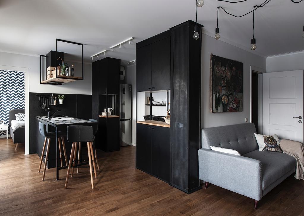 Квартира месяца: «двушка» в стиле конструктивизм