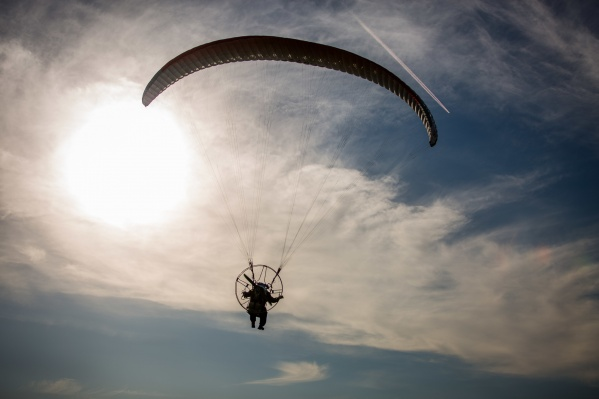 Новосибирец совершал прыжок с высоты 1800 метров