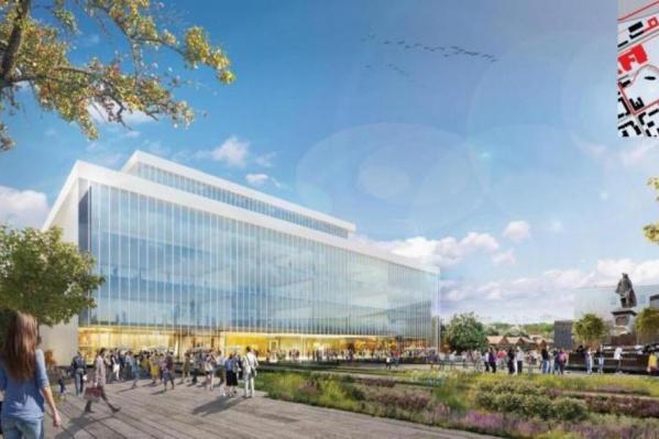 Осенью 2019 года показали один из вариантов нового здания