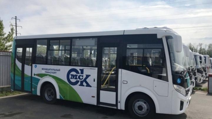 Два автобусных маршрута на левобережье объединили в один