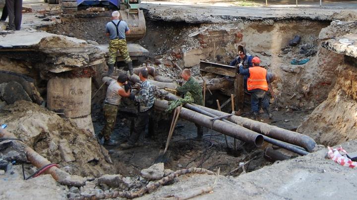 В Новосибирске нашлись теплосети, которые построили ещё при Хрущёве