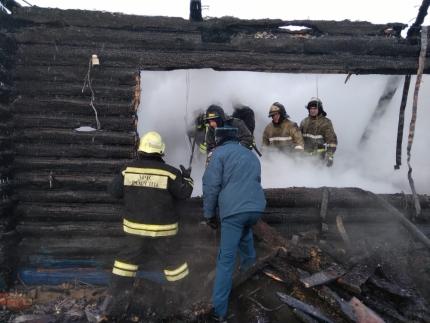 Дети остались дома одни: обстоятельства пожара в Башкирии, в котором погибли два маленьких ребенка