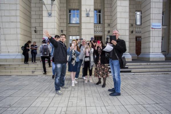 Перформанс «Первого театра» и режиссёра из Санкт-Петербурга Степана Пектеева стал заключительным в театральной лаборатории сайт-специфик #ВПУТЬ