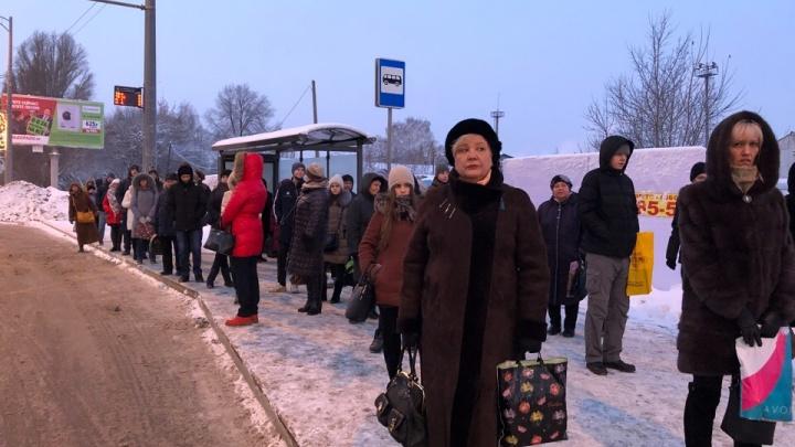 «Люди застряли на остановках»: самарцы опоздали на работу из-за ДТП на Мехзаводе