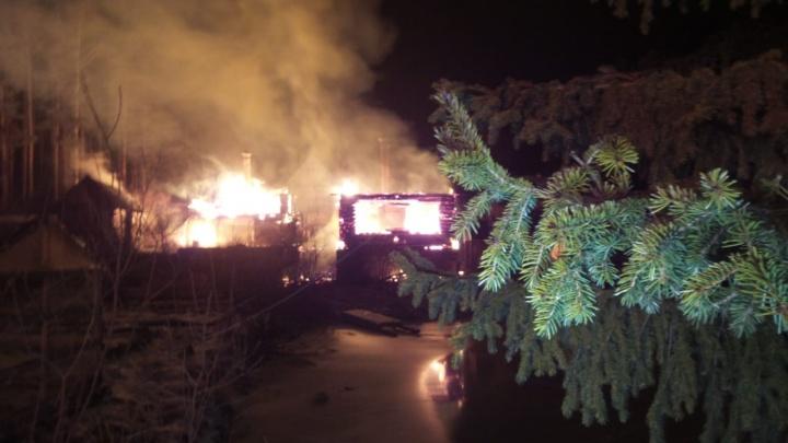 Вспыхивали один за другим: в коллективных садах на Московском тракте сгорели одиннадцать домов