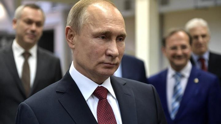 Официально: за Путина проголосовали 926 тысяч жителей Новосибирской области