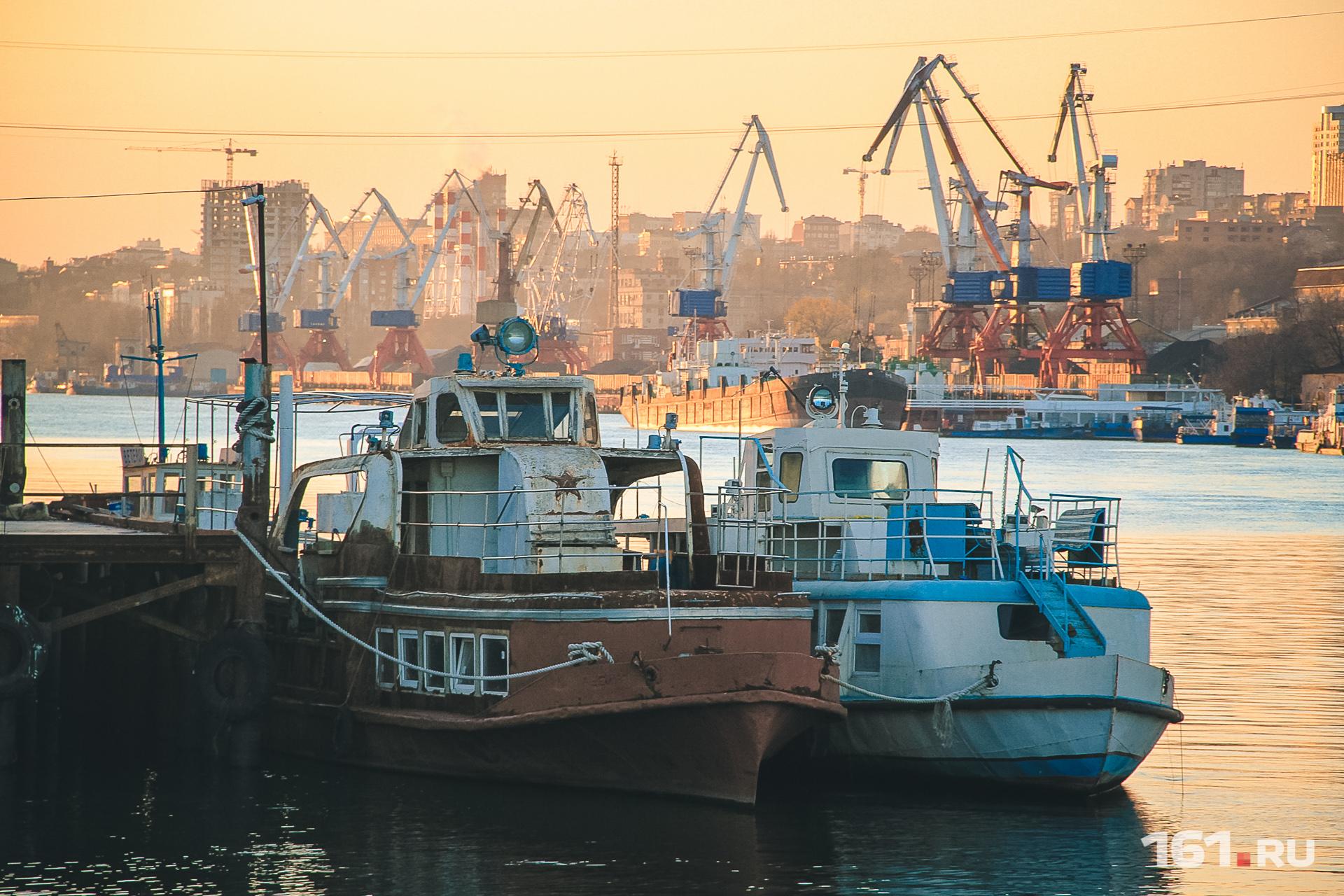 Ростов на дону порт фото