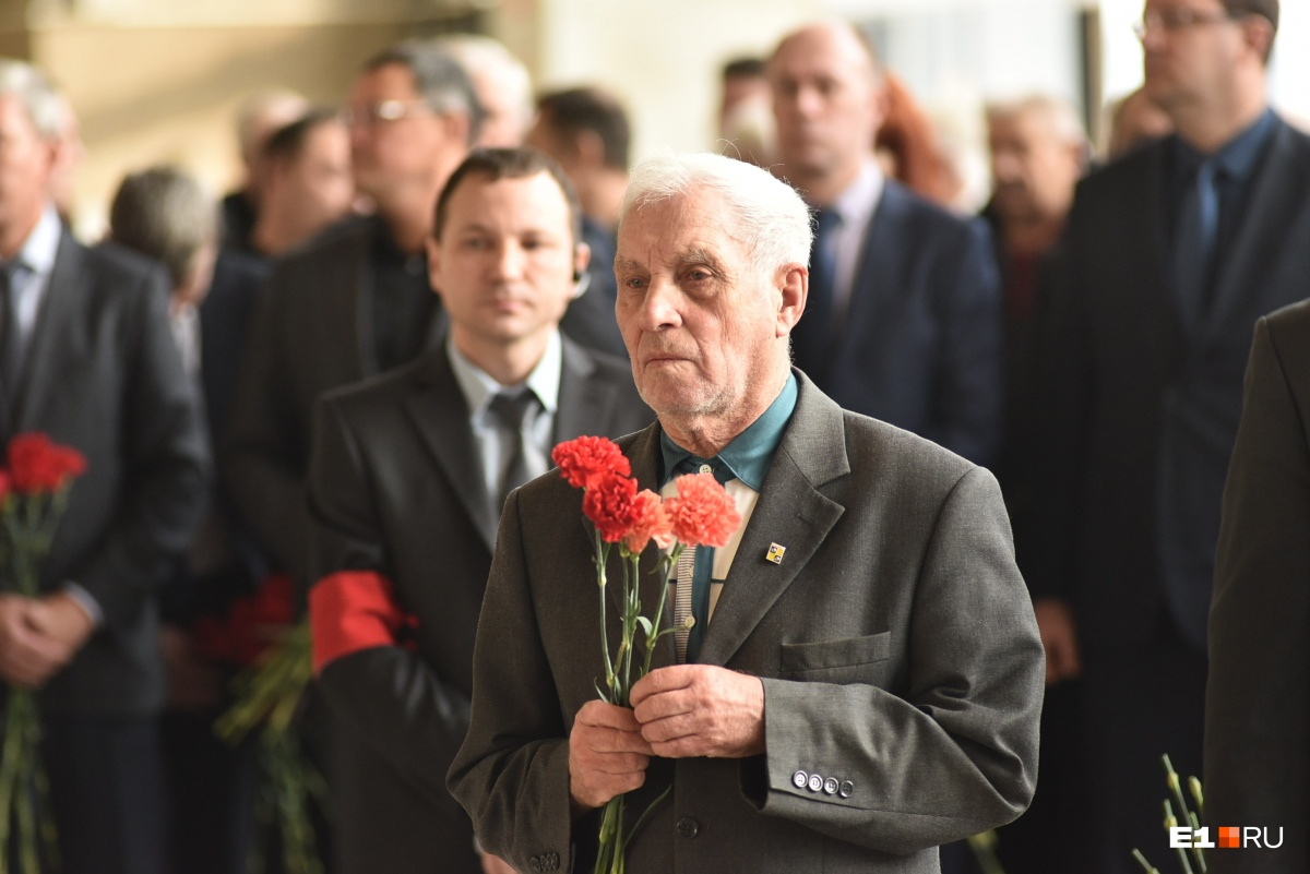 В Екатеринбурге простились с председателем Общественной палаты Яковом Спектором