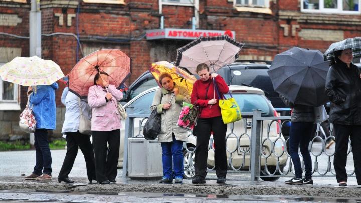 На Свердловскую область вновь надвигается буря: в выходные будет крупный град, ветер и сильные дожди