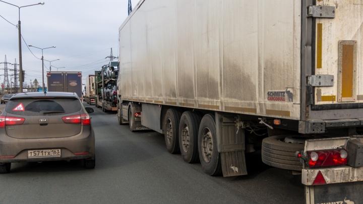В Самарской области перекрыли трассу М-5 «Урал»