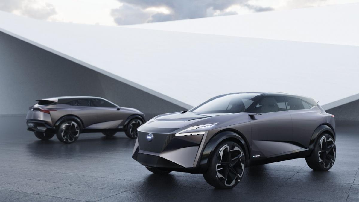 Nissan IMQ также представлен в виде электромобиля, намекая, что таким будет и будущий Qashqai
