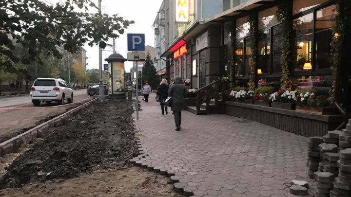 На обновленном проспекте Мира убрали и сделали короче парковочные карманы