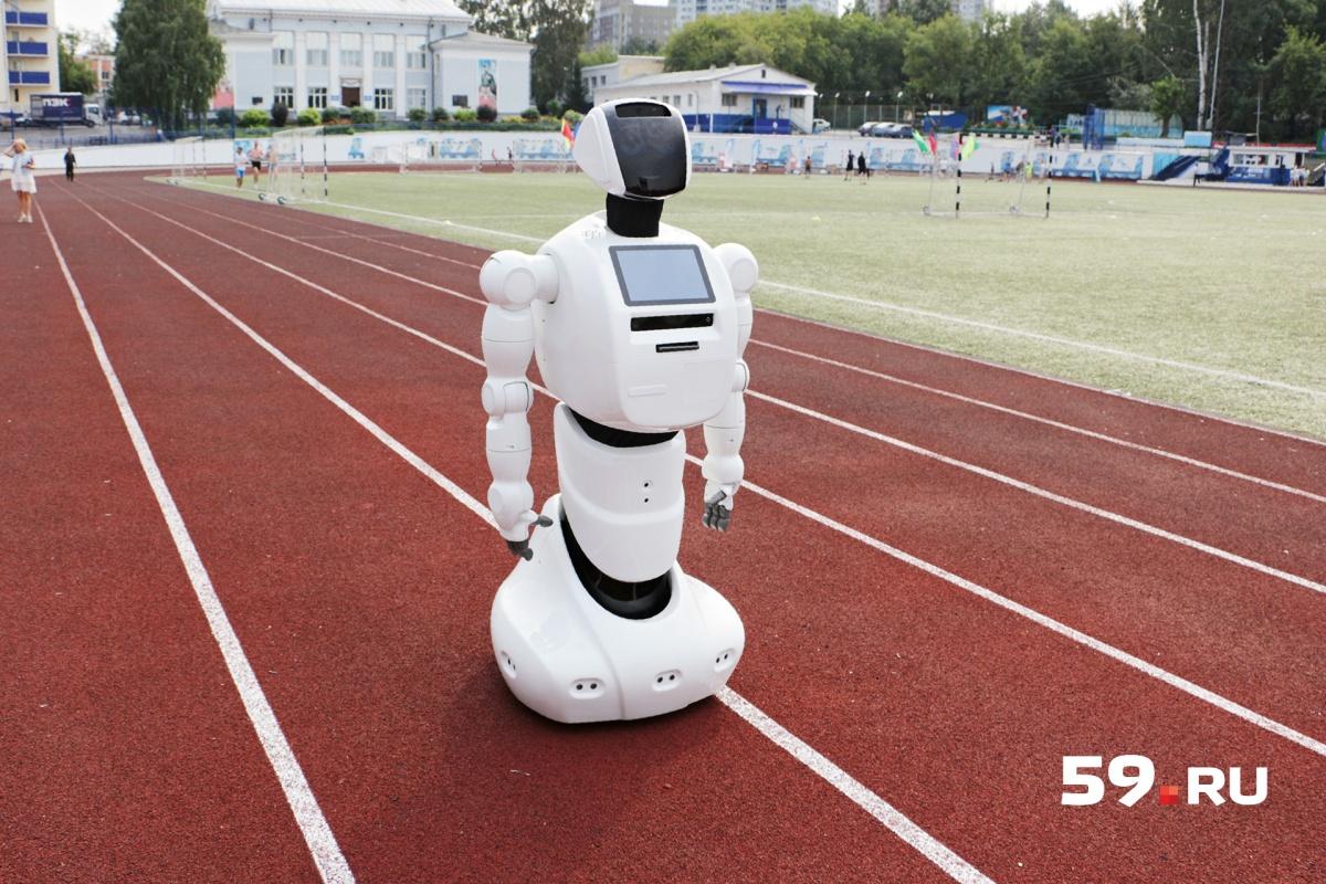 Робот будет работать в школах и помогать американским полицейским