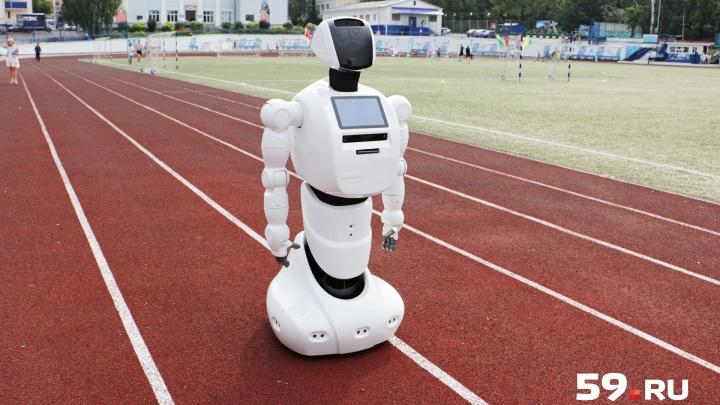 Промобот против Колумбайна: пермский робот будет вычислять в США вооруженных людей