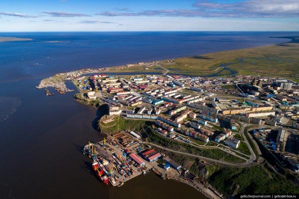 Анадырь находится на северо-востоке России и является столицей Чукотского автономного округа