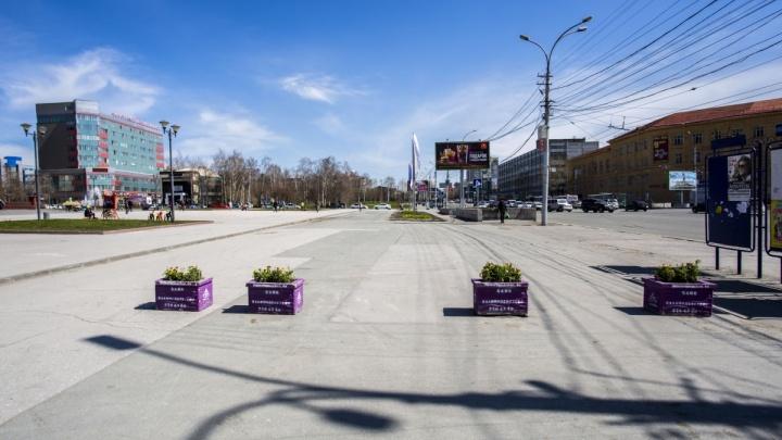 На пешеходной дорожке возле улицы Кирова запретили стоянку