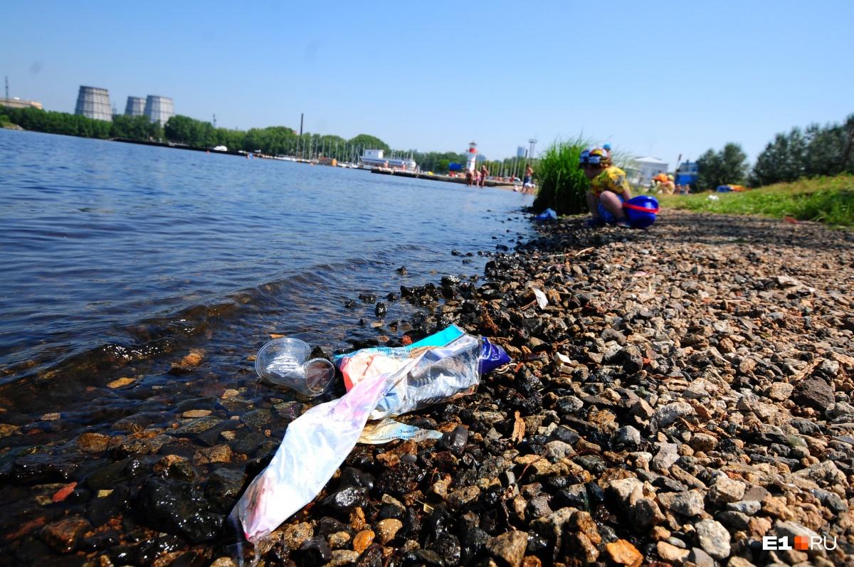 Убирать мусор на берегу, по идее, должна администрация муниципалитета