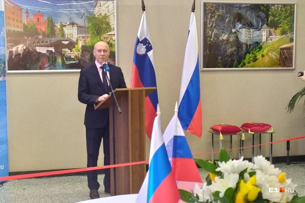 Новый почетный консул Словении Владислав Давыдов 15 лет возглавляет в Екатеринбурге компанию «ИскраУралТел»