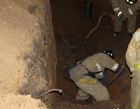 Стали известны подробности ЧП в Башкирии, где из-за обвала грунта в траншее погиб рабочий