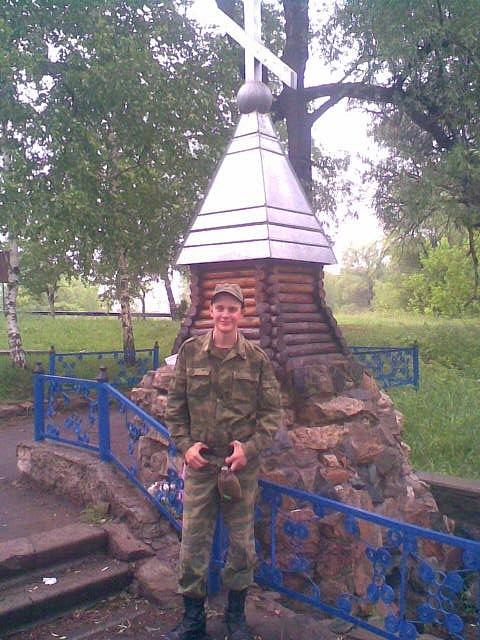 2011 год, возле источника, лето, месяц до дома, Оренбургская область, Тоцкое-4