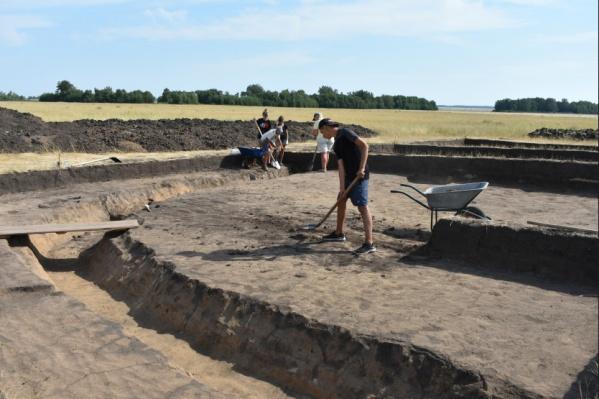 Археологические раскопки продлятся ещё две с половиной недели<br><br>