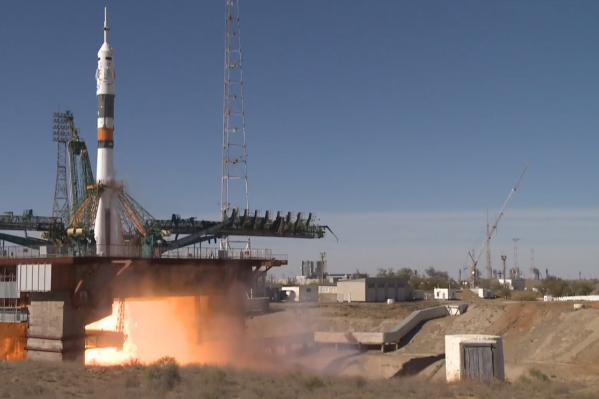 Старт ракеты с кораблем прошел успешно