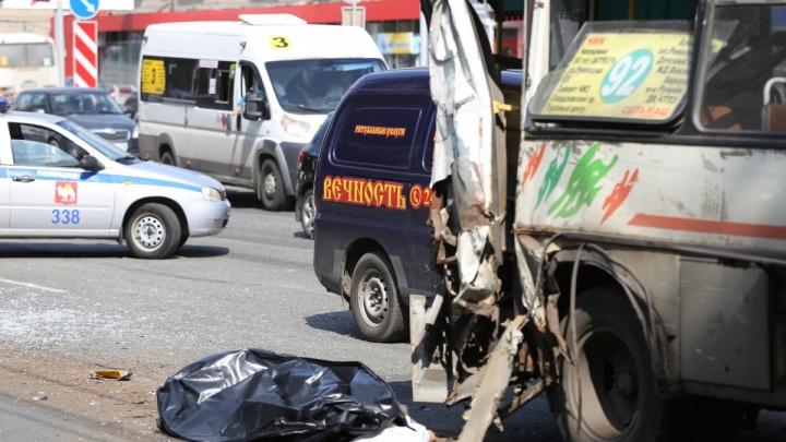 Челябинская мэрия уточнила информацию о погибших и пострадавших в ДТП с автокраном и маршрутками