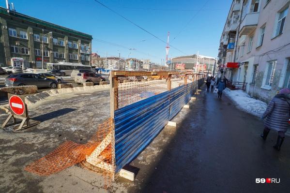 В прошлом году закончился капитальный ремонт предыдущего участка дороги — от Уральской до Лебедева