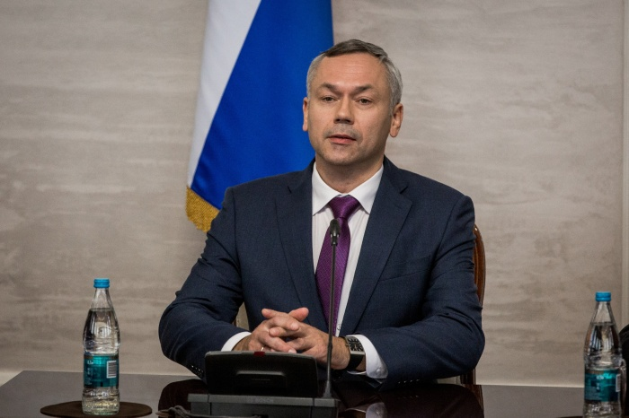 Андрей Травников был назначен врио губернатора 6 октября этого года