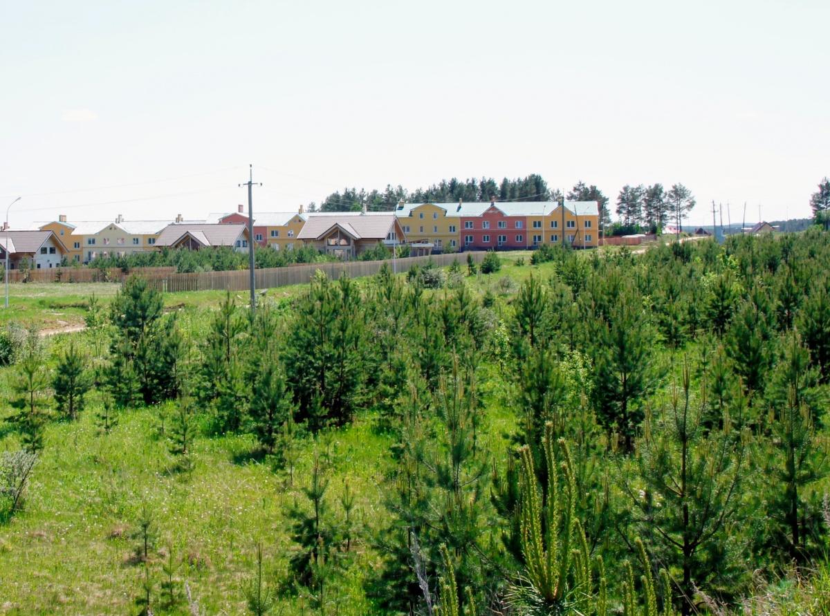 Территория новой очереди КП «Николин ключ»