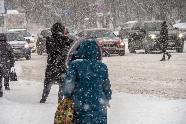 В эти выходные синоптики обещают небольшой снег и потепление