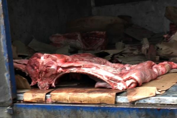 Перевозчик мяса не смог подтвердить качество и безопасность продукции