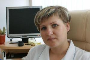 Врач высшей квалификационной категории Наталья Марченко