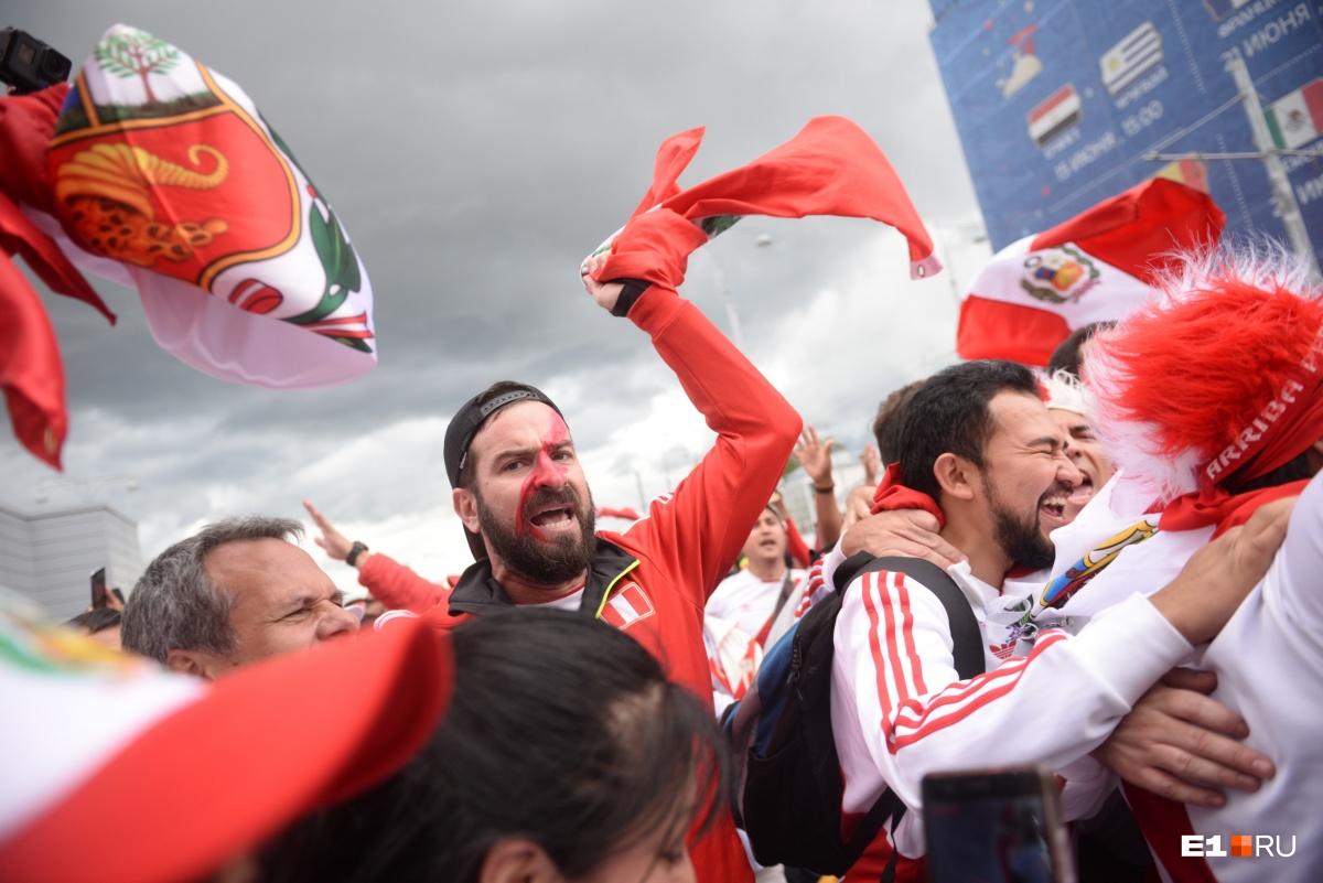 Даже страшно представить, как они будут радоваться, если Перу обыграет Францию
