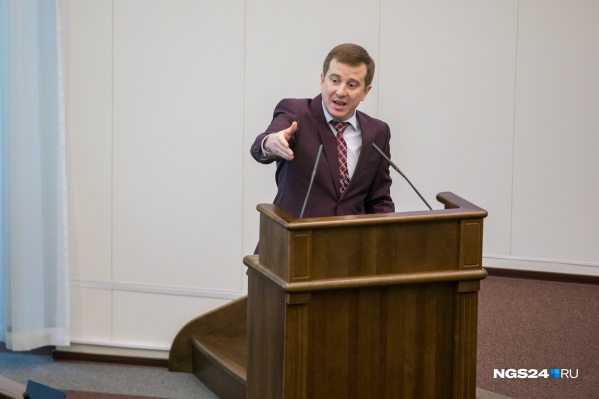 Депутат краевого парламента Денис Притуляк