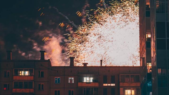 Салюты и салаты: смотрим, как красноярцы встретили 2020 год