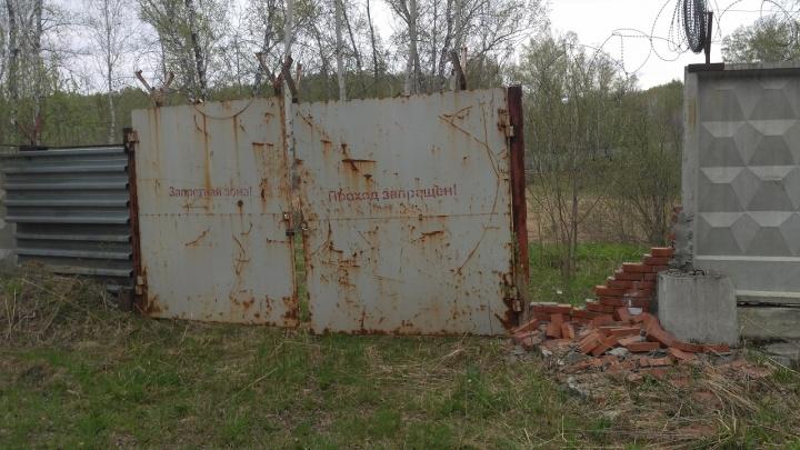 На территории НЗХК поймали человека с дозиметром: он искал там радиацию