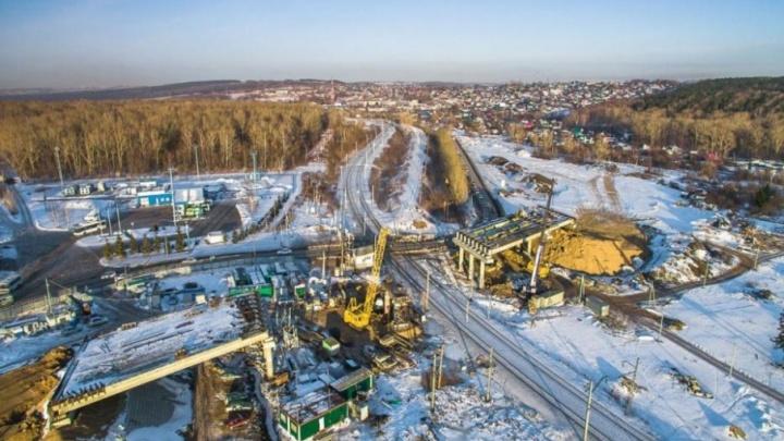 В Уфе Тимашевский переезд закроют до 10 апреля
