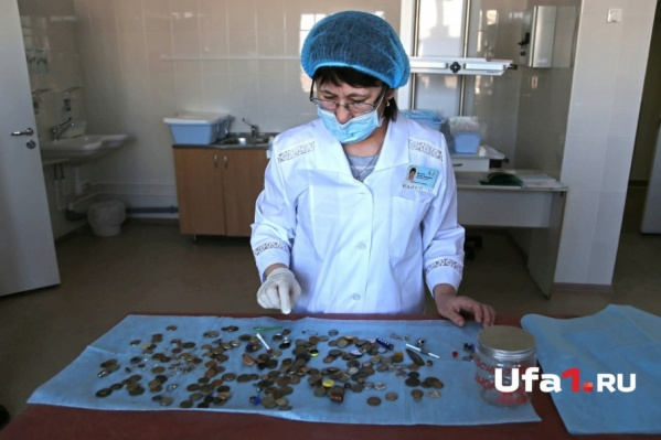 В детской республиканской больнице хранится все, что когда-либо глотали дети со всей Башкирии