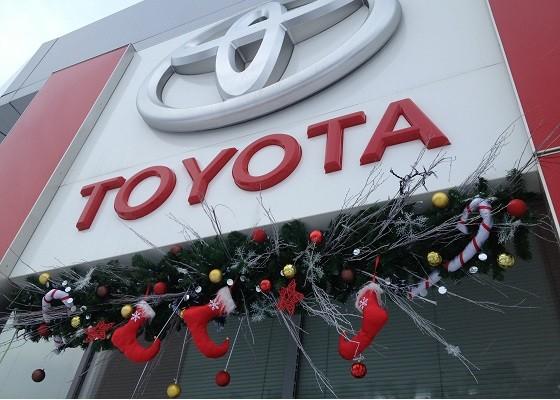 Ценители марки Toyota до конца года ещё успевают выбрать автомобиль мечты на специальных условиях