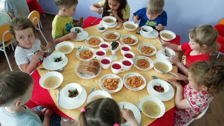 В детском саду в «Солнечном» открыли ресторан с авторским меню