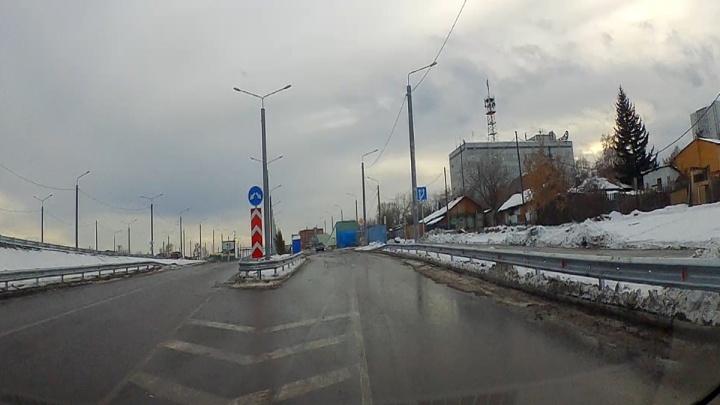 Тестируем новую развязку на Волочаевской: видеоинструкция, как не запутаться на съездах и выездах
