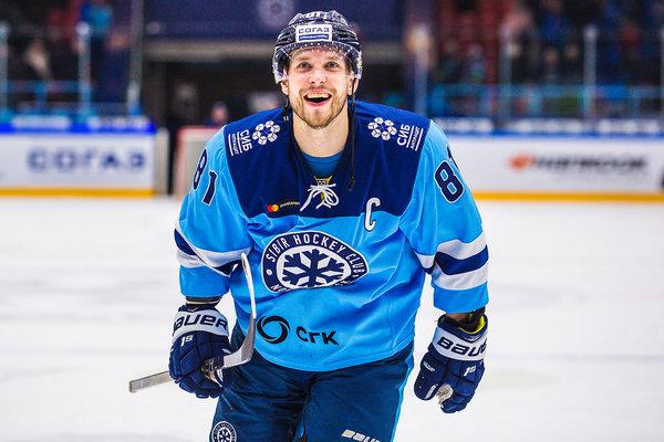 Хоккейная «Сибирь» продлила контракт с капитаном команды