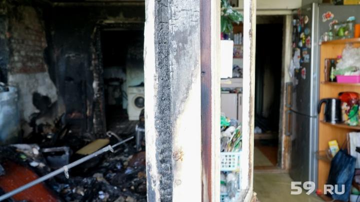 Соседи жаловались давно. Пожар в пермском общежитии случился из-за жильца с синдромом Плюшкина