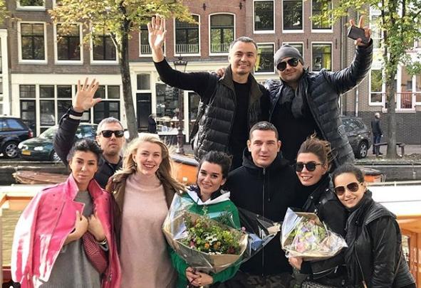 Ярославна провела экскурсию по Амстердаму для Ксении Бородиной