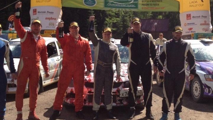 Уральские гонщики стали вторыми на этапе чемпионата России по ралли