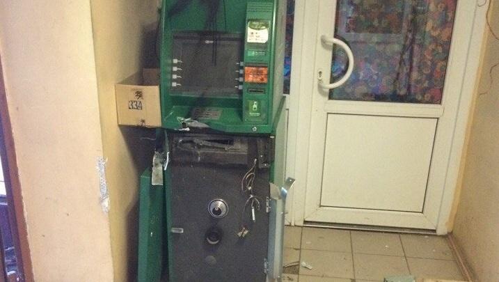 В Башкирии злоумышленники пытались вскрыть банкомат