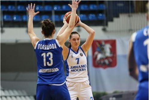 Баскетбол: новосибирское «Динамо» обошло команду из Москвы