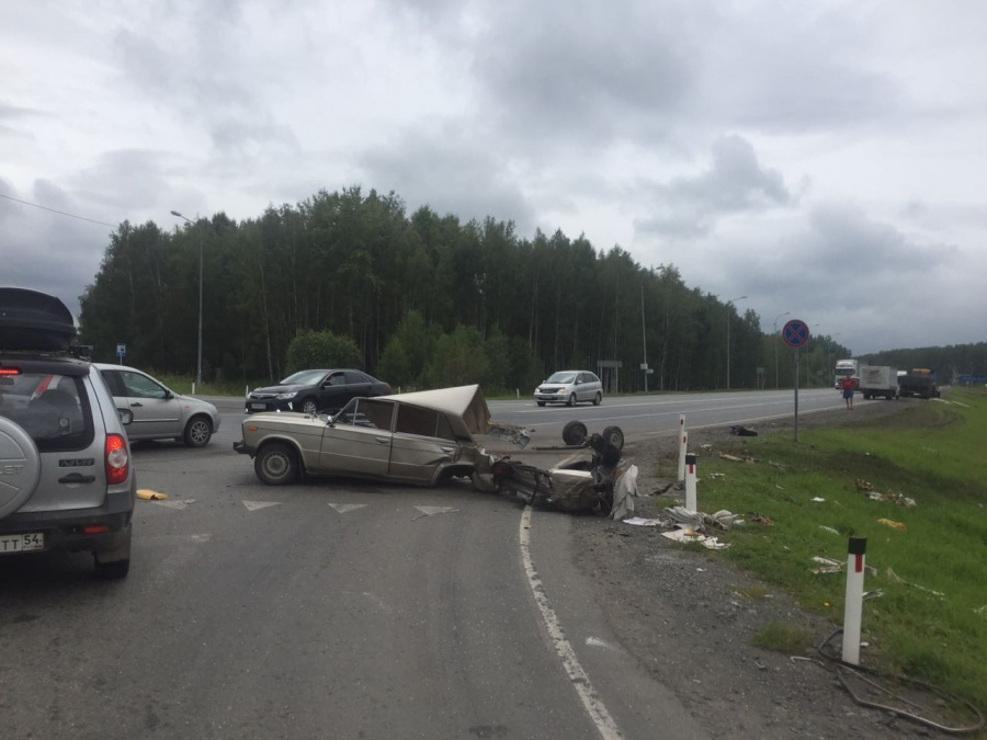 ВНСО столкнулись Жигули иКамАЗ, погибла пенсионерка