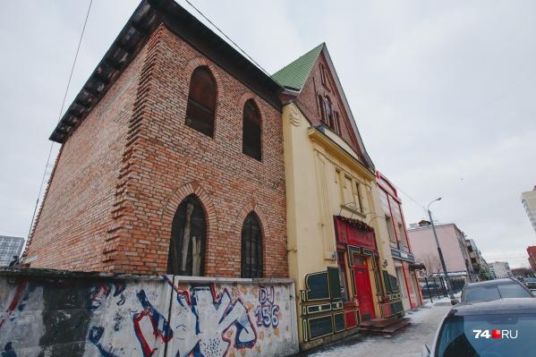 Центральную часть особнякана улице Карла Маркса, 56 возвели больше ста лет назад